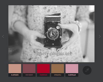 Color Extraction Effect with  CSS Filters and Javascript