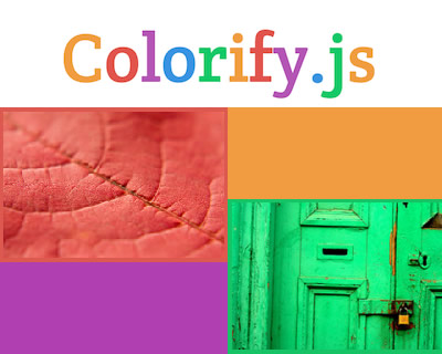 Colorify.js – Customizable and Tiny Javascript Color Extractor