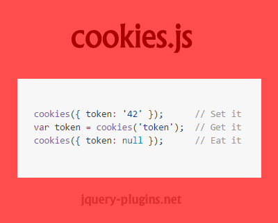 cookies.js – Interactive & Easy Cookies from Your Browser in Javascript