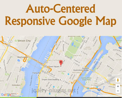 Create An Auto-Centered Responsive Google Map
