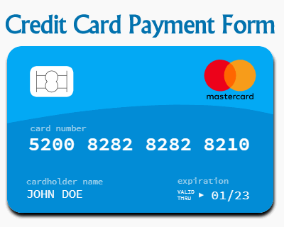 Credit Card Payment Form with Javascript