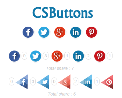 CSButtons – Custom Share Buttons