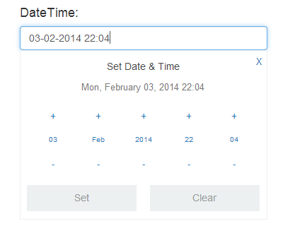 DateTime Picker – Responsive jQuery DateTime Picker Plugin for Web & Mobile