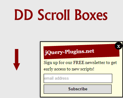DD Scroll Boxes – Animated Scroll Boxes with Javascript