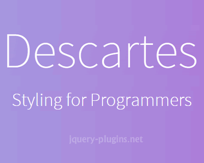 Descartes – Write CSS in JavaScript