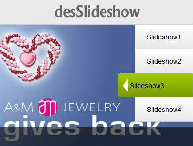 desSlideshow – Featured Image Slideshow jQuery Plugin