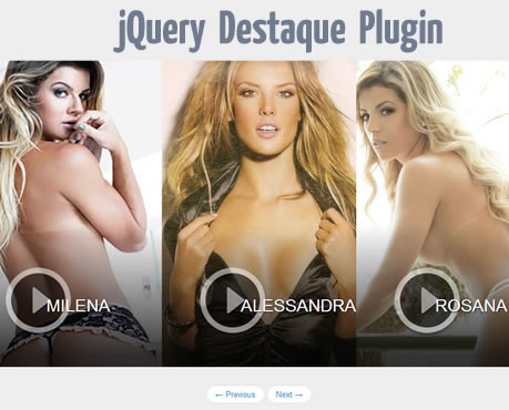 Destaque – Slideshow Plugin with Parallax Effect