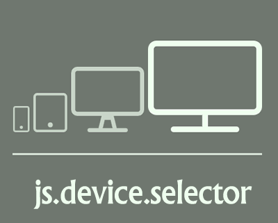 Device Selector – jQuery Plugin to Get the Current Device Information