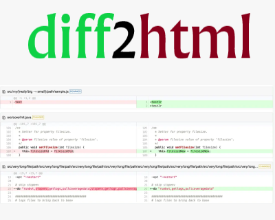 diff2html – Diff Parser and Pretty Html Generator