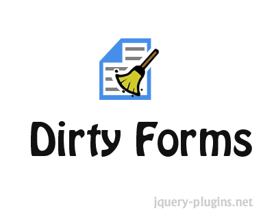 Dirty Forms – jQuery Plugin to Monitor Changes on Form and Alert It