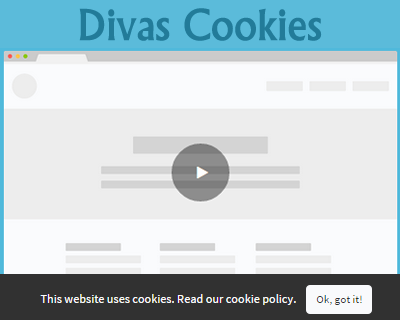 Divas Cookies – EU Cookie Policy Banner jQuery Plugin