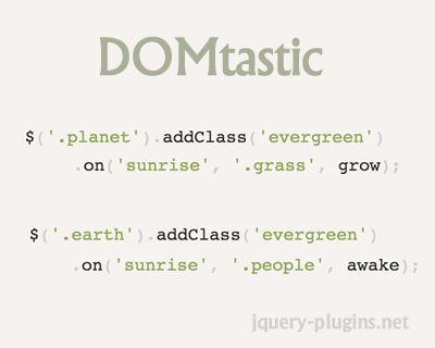 DOMtastic – Small, Fast, and Modular DOM & Event Library for Modern Browsers