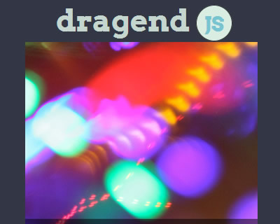 dragend JS – jQuery Plugin for Content Swiping