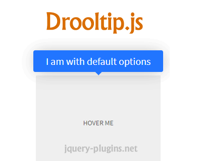 Drooltip.js – Custom Tooltips with Javascript