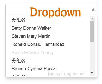 Dropdown – Lightweight jQuery Multiple Dropdown Plugin