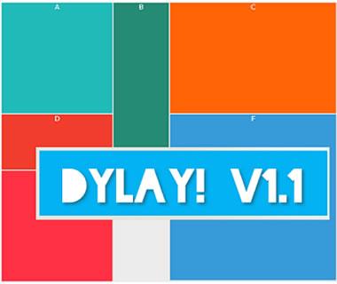 DyLay – jQuery Dynamic Layout Plugin