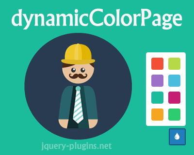 dynamicColorPage – jQuery Plugin to Change Color of Your Page