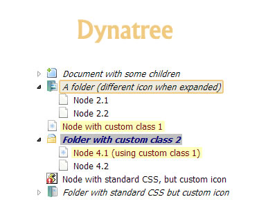 dynatree – Dynamic Tree View jQuery Plugin