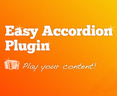 Easy Accordion jQuery Plugin