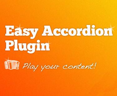 Easy Accordion jQuery Plugin