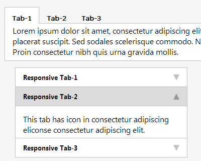 Easy Responsive Tabs to Accordion | jQuery Plugins