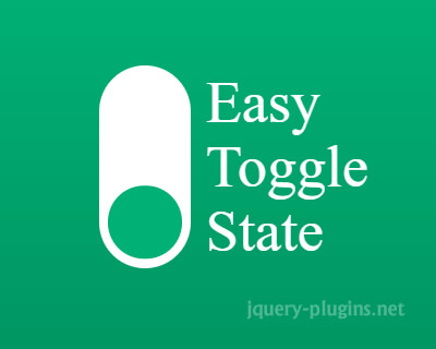 Easy Toggle State – JavaScript Library to Easily Toggle State of Any HTML Element