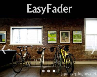 EasyFader – Lightweight Fading Slideshow Plugin