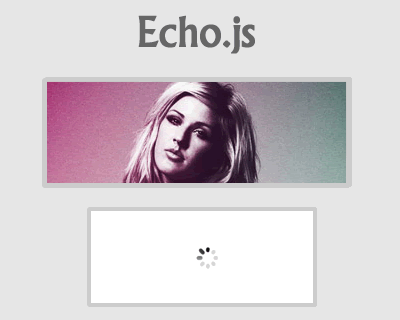 Echo.js – Simple JavaScript Image Lazy Loading