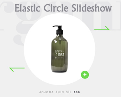 Elastic Circle Slideshow