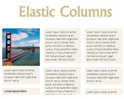 Elastic Columns – jQuery Grid Plugin with Equal Widths