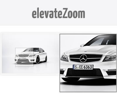 elevateZoom – jQuery Image Zoom Plugin with Options