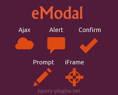 eModal – Easy Modal for Bootstrap