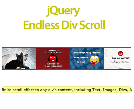 Infinite scroller jquery plugins - Jquery scroll to div ...