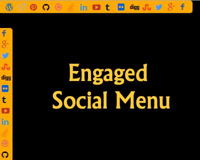 Engaged Social Menu