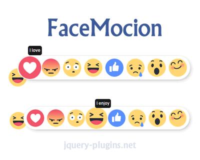 FaceMocion – jQuery Facebook Emoticons