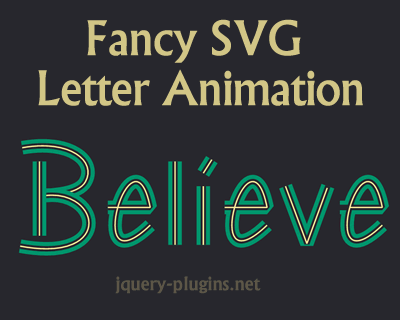 Fancy SVG Letter Animation with Javascript