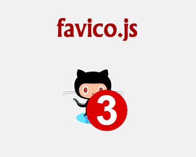 favico.js – jQuery Plugin to Animate FavIcon