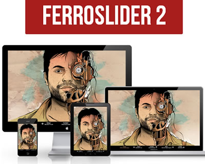 FerroSlider – Responsive and Customizable jQuery Sliding Plugin