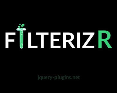 Filterizr – Custom Filters for Responsive Galleries