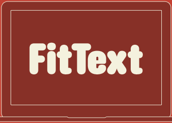 FitText - jQuery Plugin for Inflating Web type