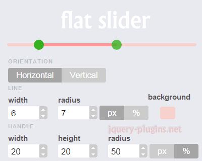 Flat Slider – Style Your jQuery UI Slider