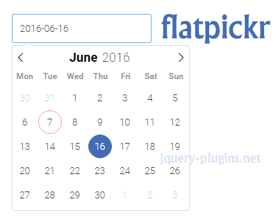 flatpickr – Lightweight and Powerful Datetimepicker