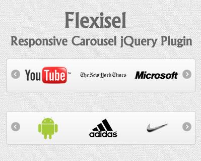 Flexisel – Responsive Carousel jQuery Plugin