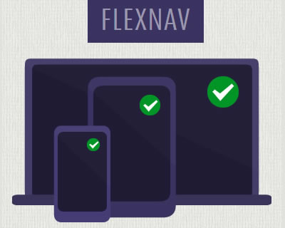 FlexNav – jQuery Plugin for Responsive Menus