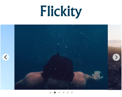 Flickity – Touch, Responsive, Flickable Galleries
