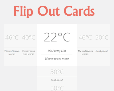 Flip Out Cards – Dynamic Multi Level Flip Out Cards