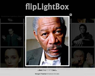 flipLightBox – Responsive Lightbox jQuery Plugin