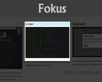 Fokus – Emphasized Text Highlighting Using JavaScript
