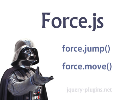 Force.js – Scroll and Animate Your Page Easily