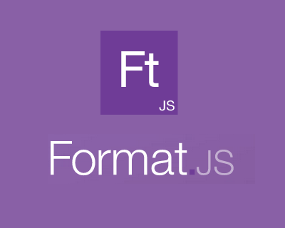 FormatJS – JavaScript Libraries for Internationalization